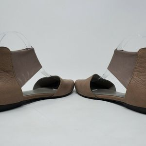 Eileen Fisher Shoes - Eileen Fisher Quartz Allot Leather Pointed Flats